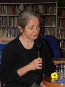 Magdalena Tulli foto: Krośnieńska Biblioteka Publiczna