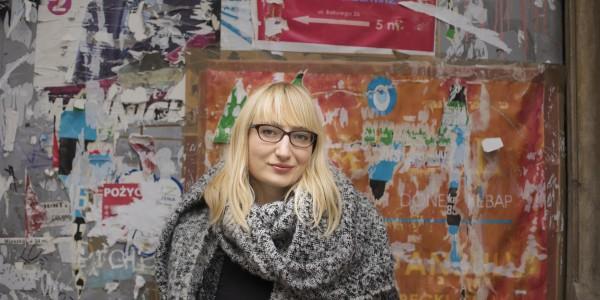 Małgorzata Rejmer fot. Krzysztof Dubiel dla Instytutu Książki