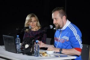 Justyna Sobolewska i Michał Nogaś Fot. Błażej Wiśniowski